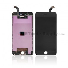 For Apple iPhone 6 Plus LCD Screen and Digitizer Assembly with Frame Replacement - Black - Grade S (0)