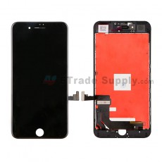 For Apple iPhone 7 LCD Screen and Digitizer Assembly with Frame Replacement - Black - Grade R (1)