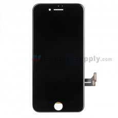 For Apple iPhone 7 LCD Screen and Digitizer Assembly with Frame Replacement - Black - Grade S (1)