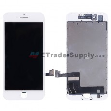 For Apple iPhone 7 LCD Screen and Digitizer Assembly with Frame Replacement - White - Grade R (6)
