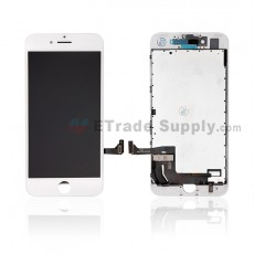 For Apple iPhone 7 LCD Screen and Digitizer Assembly with Frame Replacement - White - Grade R (7)