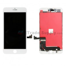 For Apple iPhone 7 Plus LCD Screen and Digitizer Assembly with Frame - White - Grade A (16)