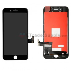 For Apple iPhone 8 LCD Screen and Digitizer Assembly with Frame Replacement - Black - Grade R (0)