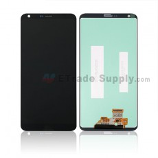 For LG G6 H871/H872/AS993/US997/LS993 LCD Screen and Digitizer Assembly Replacement - Black - With LG Logo - Grade S+ (0)