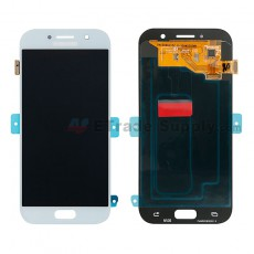 For Samsung Galaxy A5 (2017) SM-A520 LCD Screen and Digitizer Assembly Replacement - Blue Mist - With Logo - Grade S+ (0)