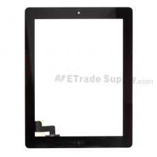 OEM Apple iPad 2 Digitizer Touch Screen Assembly (Wifi Version, Assembled with Original Material) ,Black