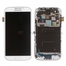For Samsung Galaxy S4 SCH-I545/R970/L720 LCD Screen and Digitizer Assembly with Front Housing Replacement - White - Grade S+