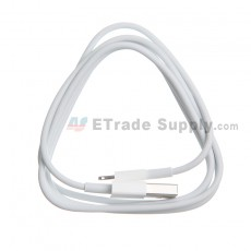 For Apple iPhone 6 Plus/6S Plus USB Data Cable - White - Grade S+
