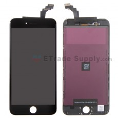 For Apple iPhone 6 Plus LCD Screen and Digitizer Assembly with Frame Replacement - Black - Grade S