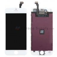 For Apple iPhone 6 LCD Screen and Digitizer Assembly with Frame Replacement (TM) - White - Grade R