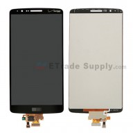 For LG G3 VS985 LCD Screen and Digitizer Assembly Replacement - Black - With Logo - Grade S+