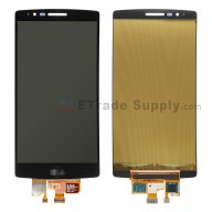 For LG G Flex 2 H950/H955/LS996 LCD Screen and Digitizer Assembly  Replacement - Black - With Logo - Grade S+