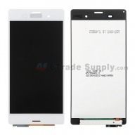 For Sony Xperia Z3 LCD Screen and Digitizer Assembly Replacement - White - With Logo - Grade S+