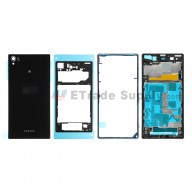 For Sony Xperia Z1 L39h Complete Housing Replacement - Black - Grade S+