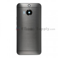 For HTC One M9+ Rear Housing  Replacement (Gray) - With Logo - Without Words - Grade S+