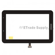 For Samsung Galaxy Tab 2 7.0 GT-P3110 Digitizer Touch Screen Replacement - Black - Grade S+