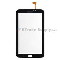 For Samsung Galaxy Tab 3 7.0 Samsung-T210 Digitizer Touch Screen Replacement - Black - With Logo - Grade S+