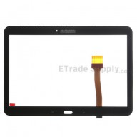 For Samsung Galaxy Tab 4 10.1 Samsung-T530 Digitizer Touch Screen Replacement - Black - With Logo - Grade S+