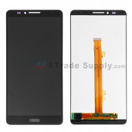 For Huawei Ascend Mate7 LCD Screen and Digitizer Assembly Replacement - Black - With Logo - Grade S+
