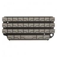 For BlackBerry Porsche Design P'9981 QWERTY Keypad Replacement ,Silver - Grade S+