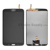 For Samsung Galaxy Tab 3 8.0 SM-T311 LCD Screen and Digitizer Assembly Replacement - Black - Grade S+