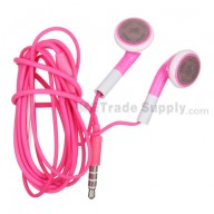 For Apple iPhone 4S, iPhone 4 Headphone with Remote and Mic - Pink - Grade R
