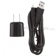 For BlackBerry Torch 9800 USB Charger - Black - Grade R