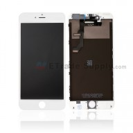 For Apple iPhone 6 Plus LCD Screen and Digitizer Assembly with Frame Replacement - White - Grade R