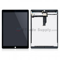 For Apple iPad Pro 12.9 LCD Screen and Digitizer Assembly Replacement (With IC Board) - Black - Grade S+