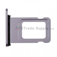 For Apple iPhone 11 SIM Card Tray Replacement (Single SIM Card) - Purple - Grade S+