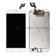 For Apple iPhone 6S Plus LCD Screen and Digitizer Assembly with Frame Replacement - White - Grade S