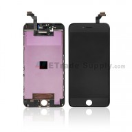 For Apple iPhone 6 Plus LCD Screen and Digitizer Assembly with Frame Replacement - Black - Grade S+