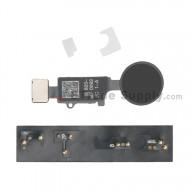 For Apple iPhone 7/7 Plus/8/8 Plus Universal Home Button Replacement (1st Gen) - Black - Grade R