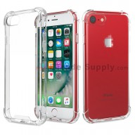 For Apple iPhone 7/8 Silicone Corners Balloon Anti-fall Protective Case