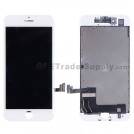 For Apple iPhone 7 LCD Screen and Digitizer Assembly with Frame Replacement - White - Grade S