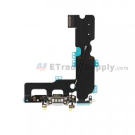 For Apple iPhone 7 Plus Charging Port Flex Cable Ribbon Replacement - Gray - Grade S+