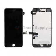 For Apple iPhone 7 Plus LCD Screen and Digitizer Assembly With Frame and Small Parts Replacement (Without Home Button) - Black - Grade S