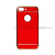 For Apple iPhone 7 Plus Protective Case - Red - Grade R