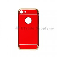 For Apple iPhone 7 Protective Case - Red - Grade R