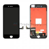 For Apple iPhone 8 LCD Screen and Digitizer Assembly with Frame Replacement - Black - Grade A