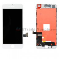 For Apple iPhone 8 Plus LCD Screen and Digitizer Assembly with Frame Replacement - White - Grade S