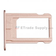 For Apple iPhone SE SIM Card Tray Replacement - Rose Gold - Grade S+