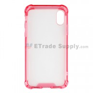 For Apple iPhone X Shatterproof Case Replacement - Fuchsia - Grade R