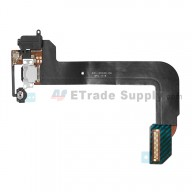 For Apple iPod Touch 6th Generation Charging Port Flex Cable Ribbon Replacement - Black - Grade S+
