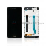 For Asus ZenFone 3 Max ZC520TL LCD Screen and Digitizer Assembly with Front Housing Replacement - Black - With Logo - Grade S+