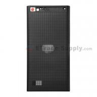 For Blackberry Leap Battery Door Replacement - Black - Grade S+