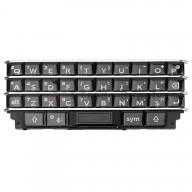 For Blackberry KEYone Keypad+Keypad Keyboard Replacement - Black - Grade S+