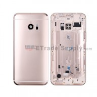 For HTC 10 Rear Housing Replacement - Gold - With Logo - Grade S+