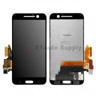 For HTC 10 LCD Screen and Digitizer Assembly Replacement - Black - Without Logo - Grade S+