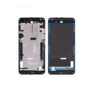 For HTC Desire 530 Front Housing without Top and Bottom Cover Replacement - Black - Grade S+